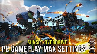 Sunset Overdrive PC Gameplay - 1440p - GTX 1080 - 7700k