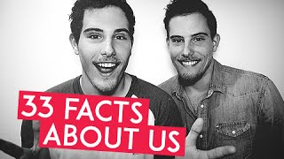 33 FACTS ABOUT US | TWIN.TV