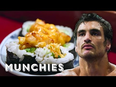 The Pescatarian Diet of a Gracie MMA Fighter