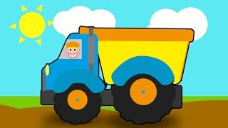 Build a Dump Truck | Trucks for Children