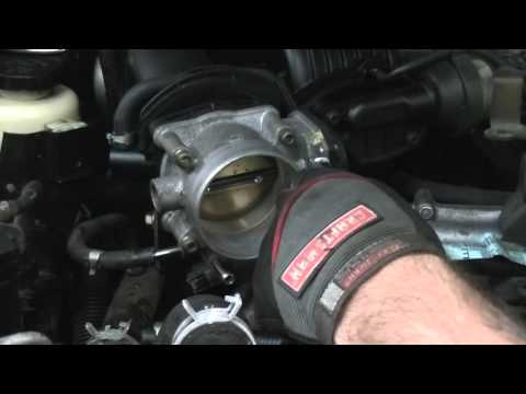 Replacing Electronic Throttle Control Actuator (throttle body) in Nissan Xterra