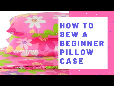 How to Make a Pillow Case with French Seams