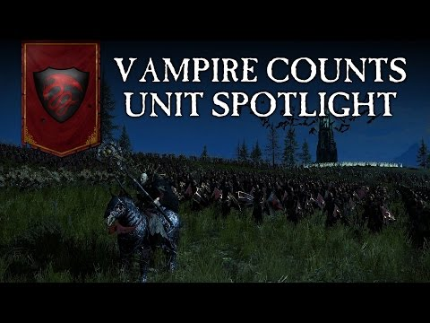 Total War: WARHAMMER - Unit Spotlight - Vampire Counts