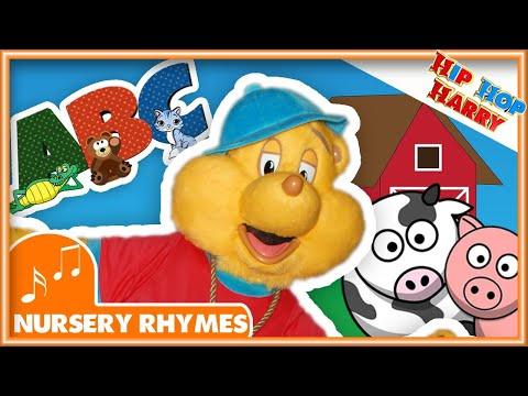 ABC SONG | Nursery Rhyme Collection | Hip Hop Harry