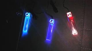 Подсветка в салон автомобиля http://www.avtopartsshop.com/(Работает от прикуривателя, светоэлементы крепятся на 2х сторонний скотч., 2014-01-08T16:27:35.000Z)