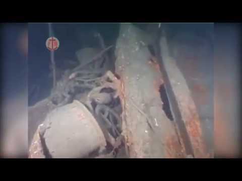 Underwater footage of wreck of WWI German SMS Lutzow.