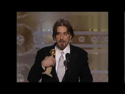 Al Pacino Wins Best Actor Mini Series  Golden Globes 2004
