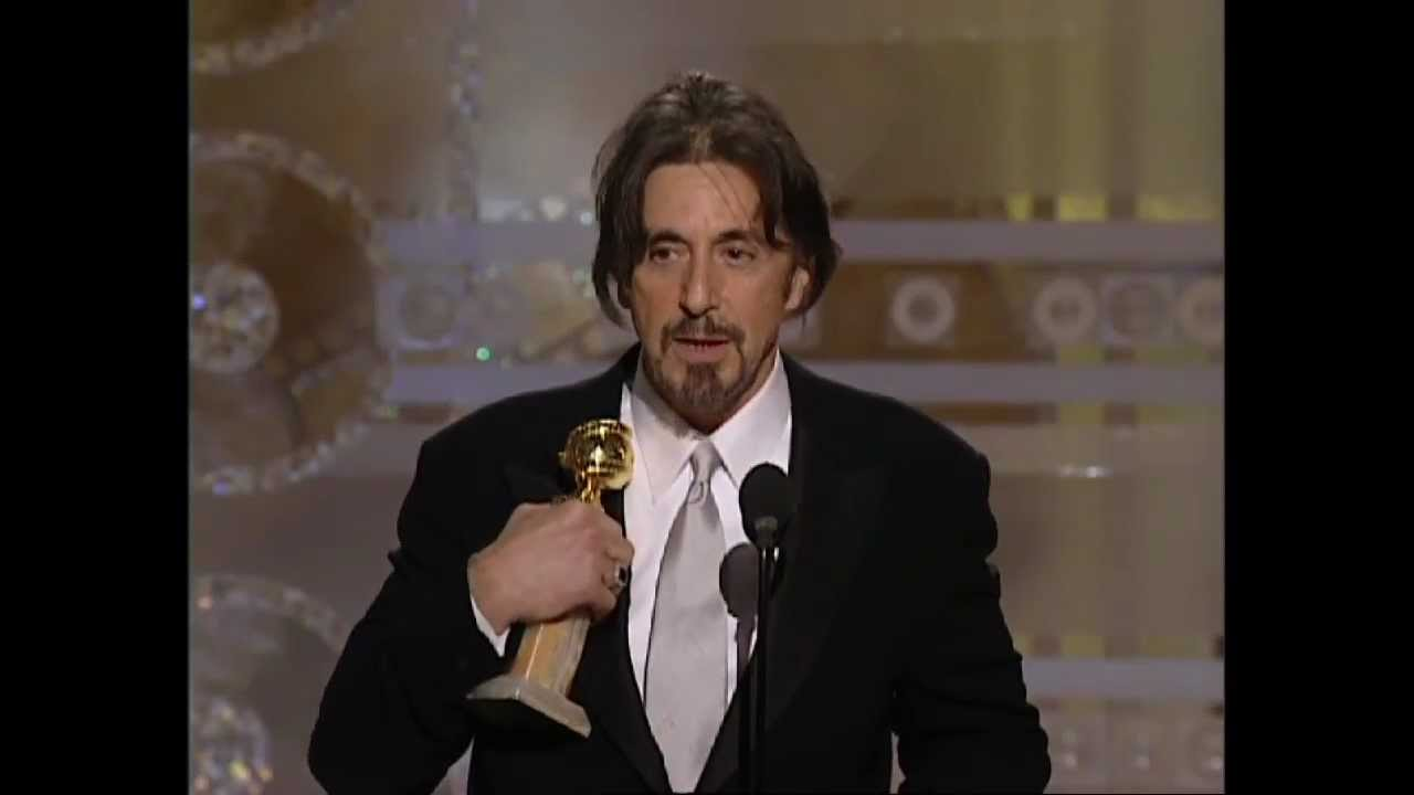 Al Pacino Wins Best Actor Mini Series - Golden Globes 2004 ...