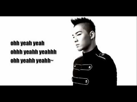 TaeYang- You're My English lyrics