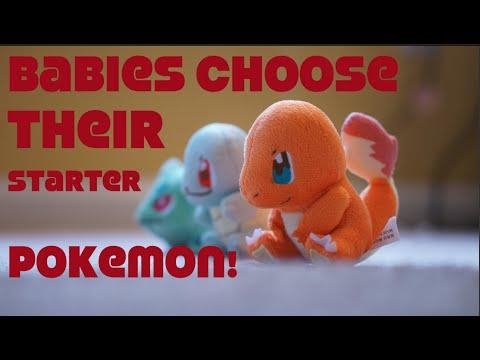 Babies Choose Their Pokémon Starter