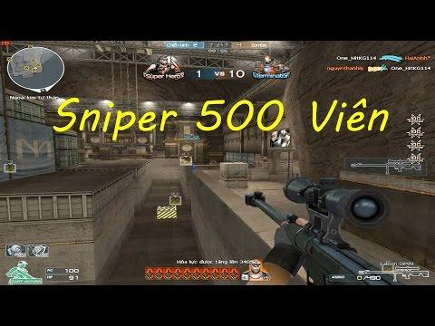 Khẩu Sniper nhiều đạn nhất Falcon OP99 - Tiền Zombie v4