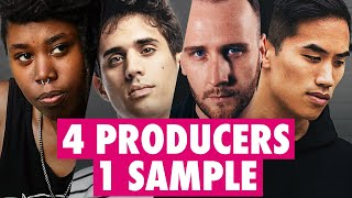 4 PRODUCERS FLIP THE SAME SAMPLE ft. Anomalie, Zomboy, Kilamanzego
