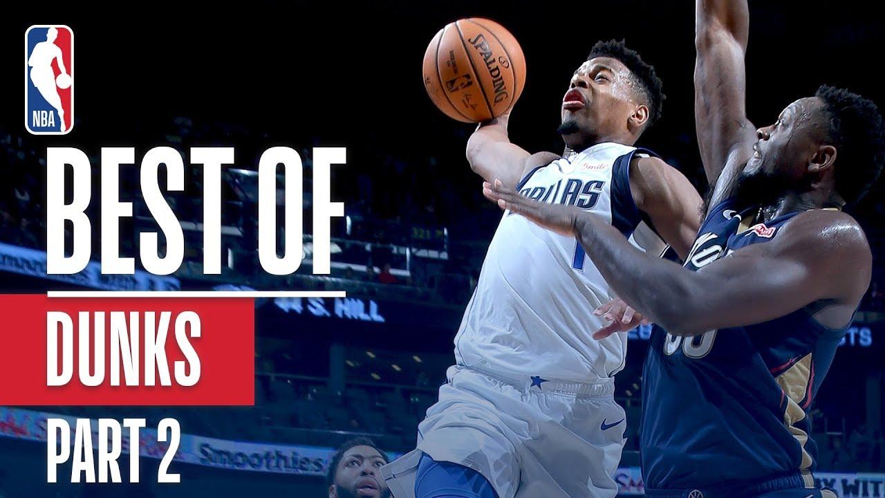 NBA's Best Dunks | 2018-19 Season | Part 2