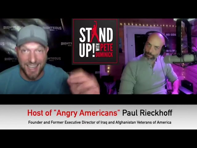 RIECKHOFF ON STAND UP WITH PETE DOMINICK - NOV  11, 2020
