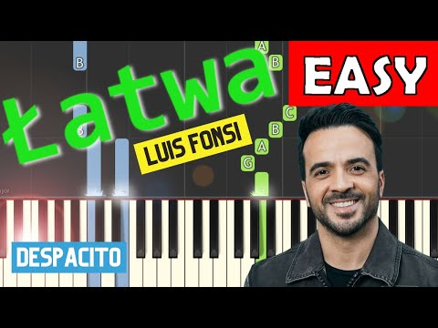 Despacito (Luis Fonsi) - łatwa synthesia (EASY)