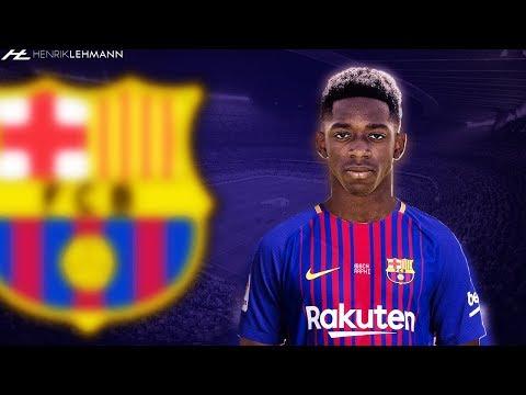 Ousmane Dembélé ● Welcome To FC Barcelona ● 2017/18