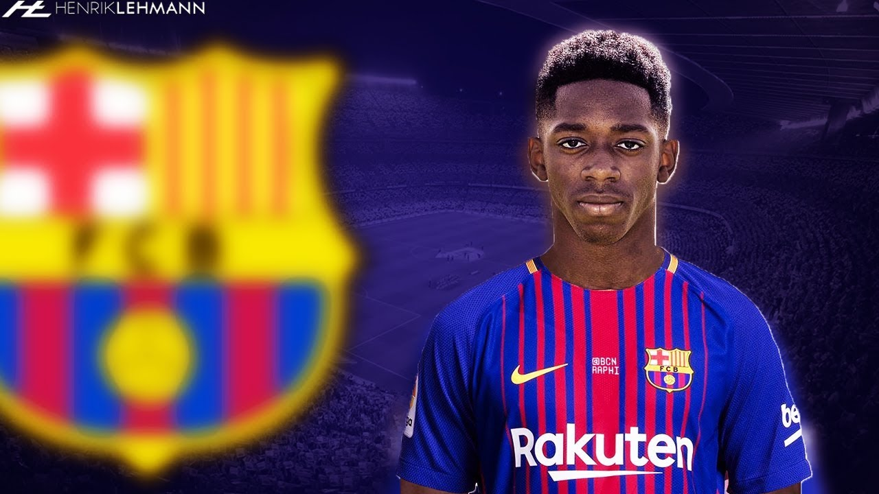 Ousmane Dembélé ○ Welcome To FC Barcelona ○ 2017 18 - YouTube 431df73fa