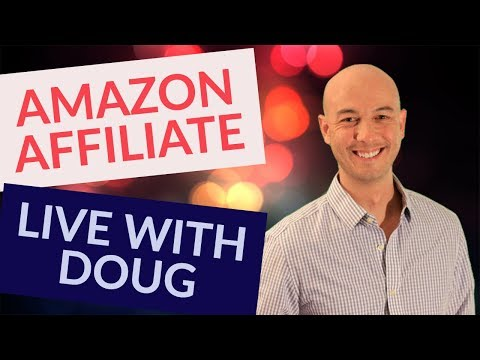 Amazon Affiliate Marketing & KGR with DOUG CUNNINGTON LIVE