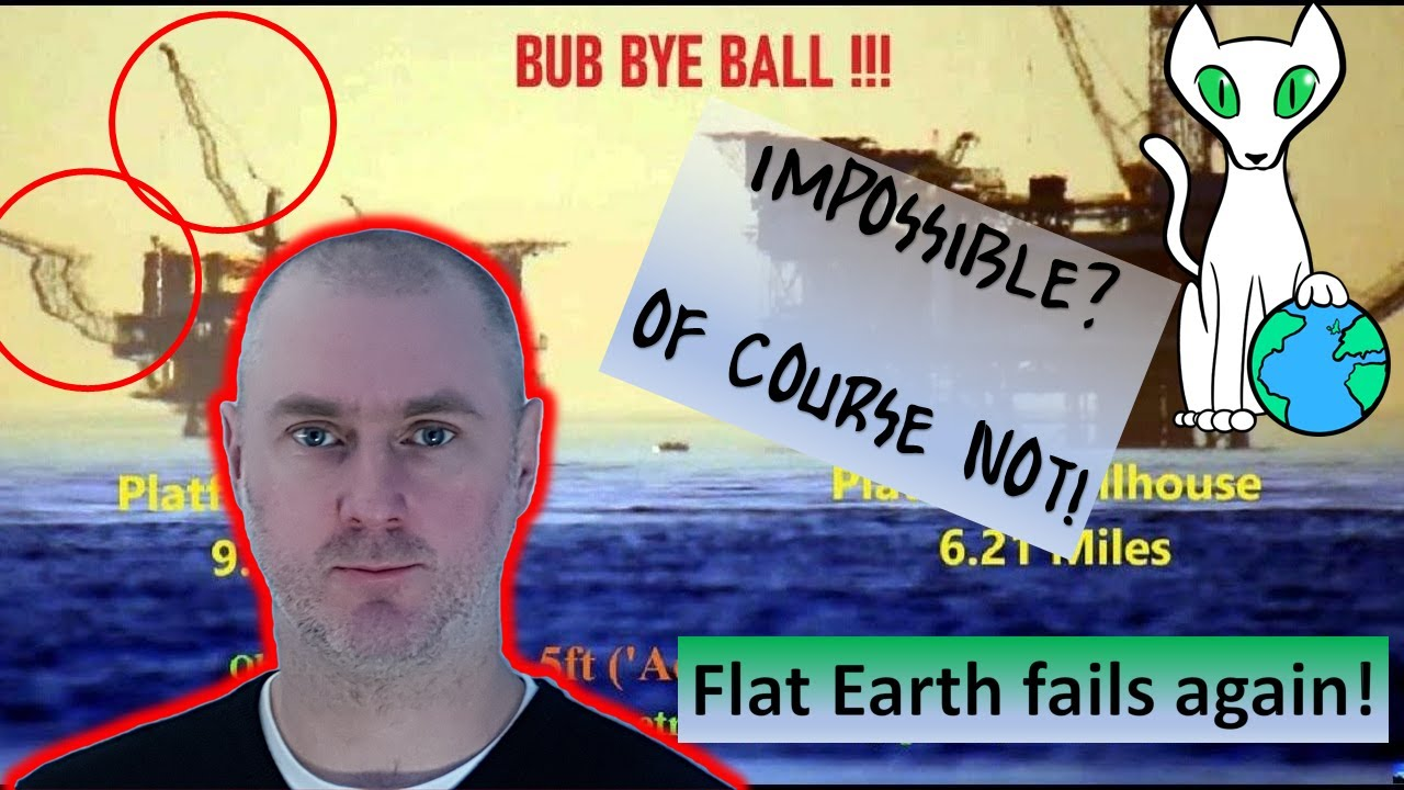 The photograph that is this years most ridiculous proof of Flat Earth