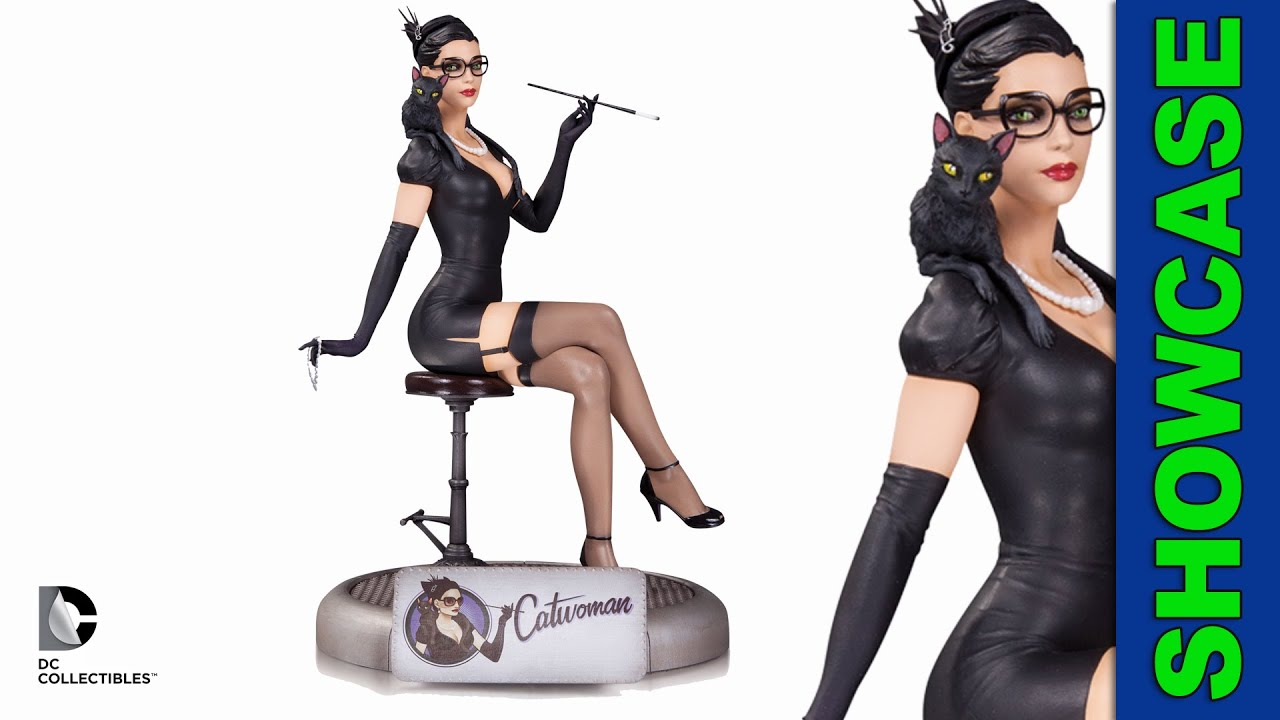 Girl And Cat Figurine