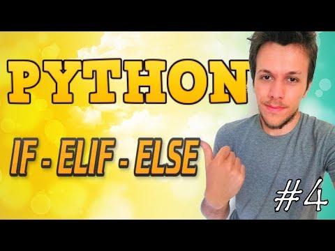 Python tutorial 2019 #4 IF / ELIF / ELSE thumbnail