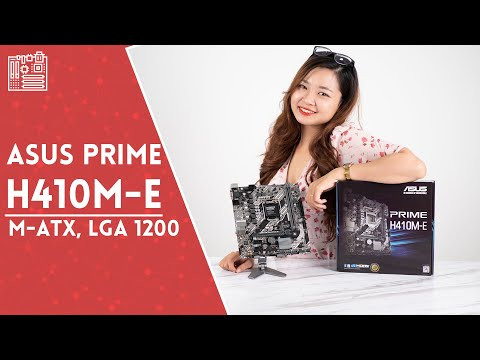 Mainboard ASUS PRIME H410M-E | HANOICOMPUTER Quick Review