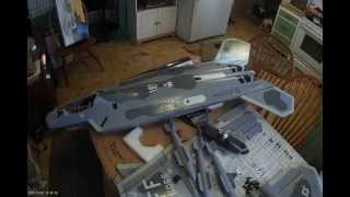 LX Models Huge F-22 Raptor 70mm Twin EDF Jet Fighter