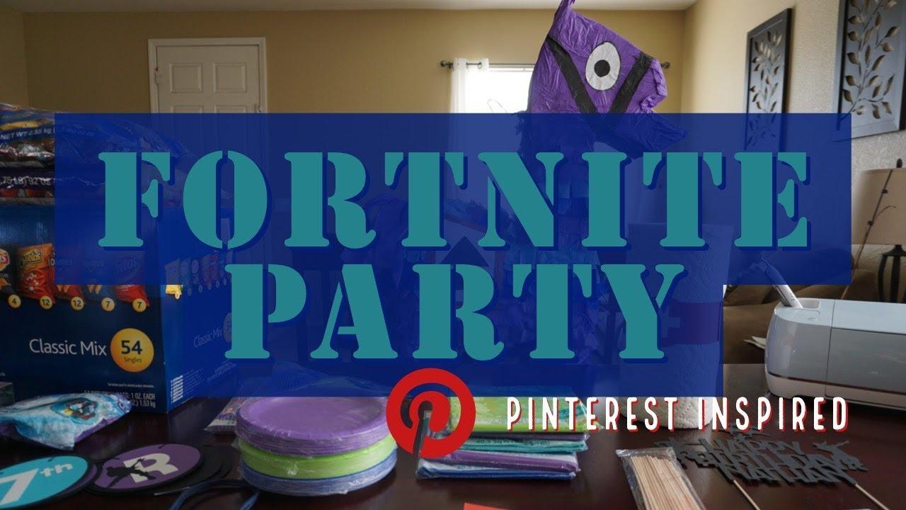 Fortnite Party Ideas Pinterest | Fortnite Cheat Free
