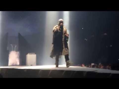 Kanye West Yeezus Tour 12-13-2013 Anaheim Rant