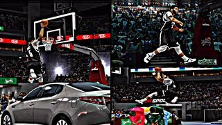 NBA2K13 MyCAREER: 2013 Slam Dunk Contest Feat. Tyronn Jones and the other guys LoL