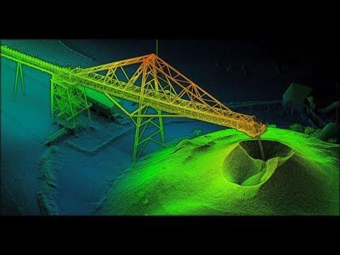 LIDAR Structural Inspection of Mining Crusher (DIGITAL TWIN AS-BUILT 3D ANALYTICS)