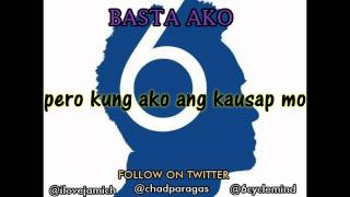 BASTA AKO by 6cyclemind LYRIC VIDEO with MP3 free download (clear version)