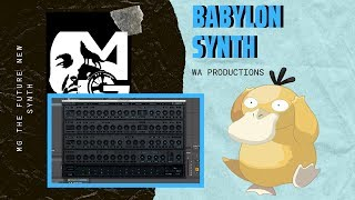 Live 🎥  | Preset Diving The WA Babylon Synth | Got New Synth?