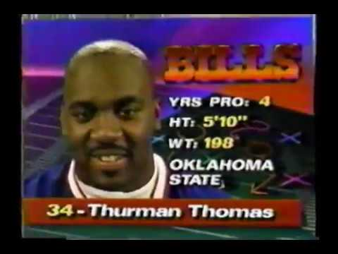 1991 NFL MVP Thurman Thomas