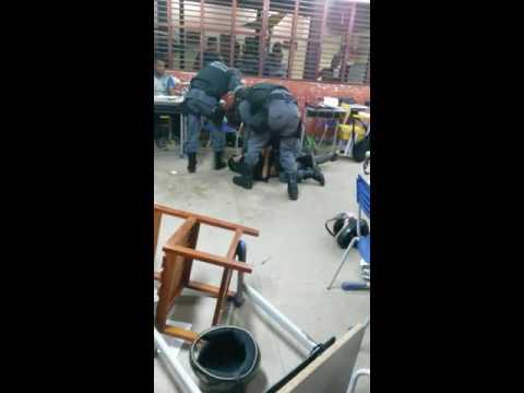 Agressão polícia em Macapá/Amapá