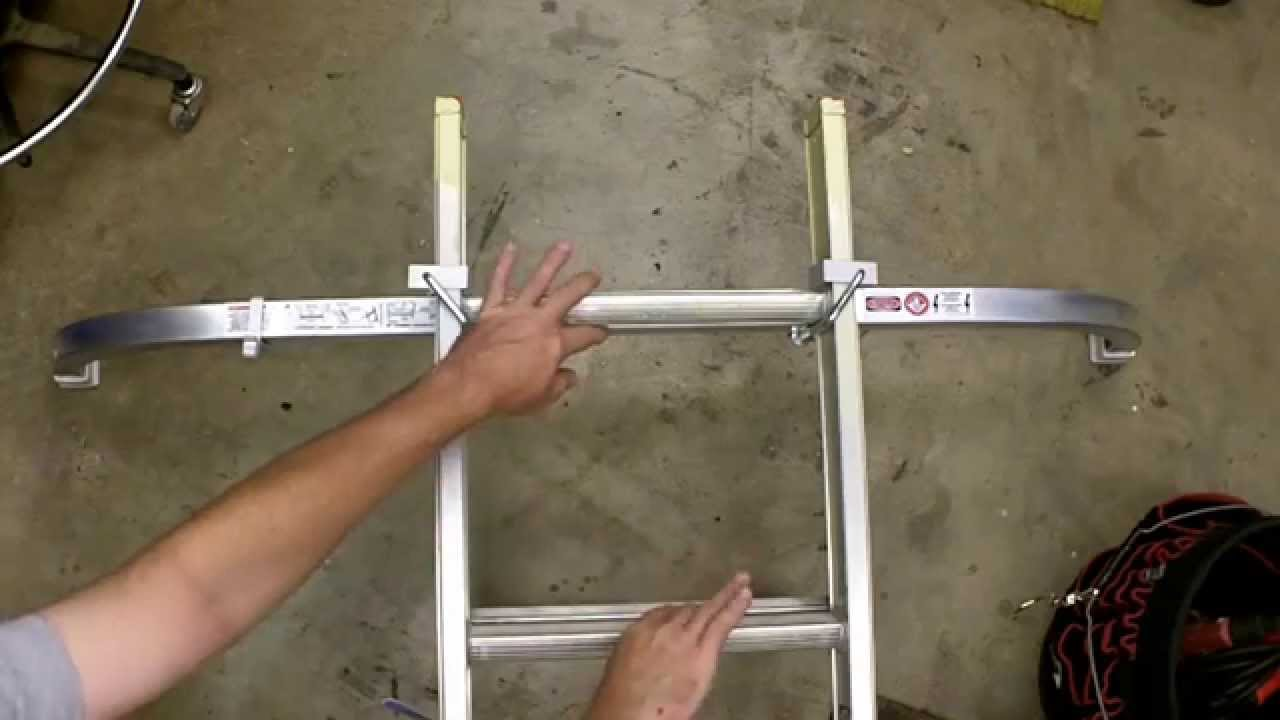 Werner Ladder Stabilizer Review Model Ac96 Youtube