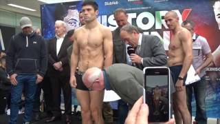 JOHN RYDER v ROBERT TALAREK - OFFICIAL WEIGH IH & HEAD TO HEAD / HISTORY IN THE MAKING