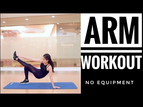 ARM WORKOUT - NO EQUIPMENT - NO PUSH UP