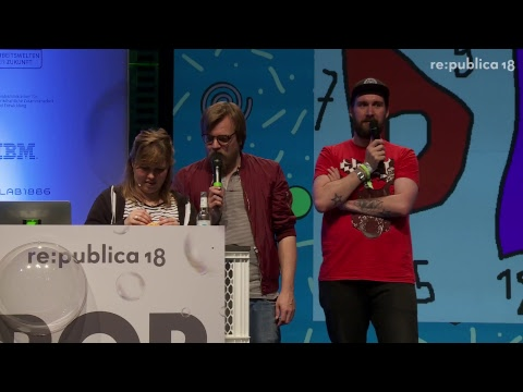 Oo° re:publica 2018 | POP | Power of People | Stage 2 -Day 1 °oO