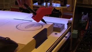 CNC Drawing Tools - 3D Printed Pen Holder