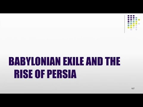 10 British Museum:  The Babylonian Exile and the Rise of Persia, Dan Lewis
