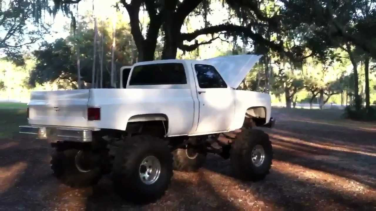 chevy k20 1981 lifted 85 block chevrolet