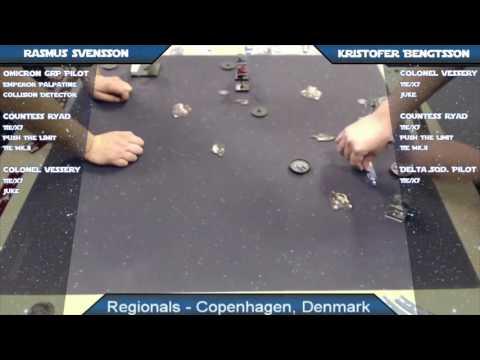 X-Wing Battle Report 71 - Copenhagen Regionals Final