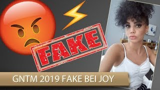 GNTM 2019 FAKE bei JOY?
