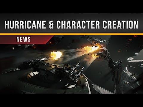 ✖ Star Citizen » Hurricane & Character Creation