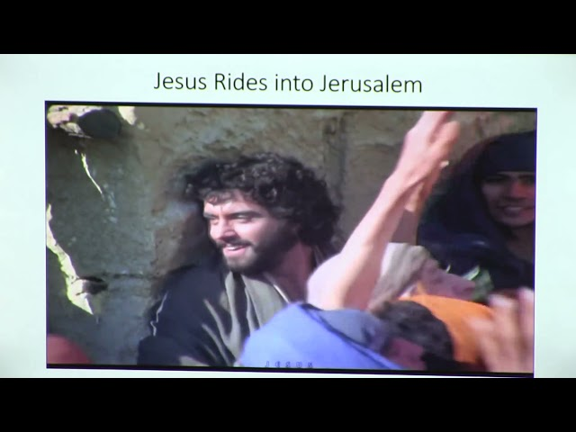 Zion Palm Sunday Connect Service, March 28th, 2021