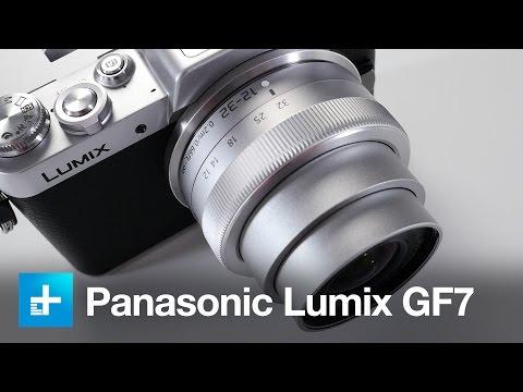 Panasonic Lumix DMC-GF7 camera - Hands-on review