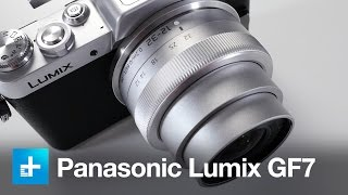 panasonic Lumix DMC-GF7 camera - Hands-on review