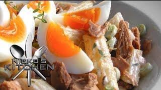 Pasta & Egg Salad - Video Recipe