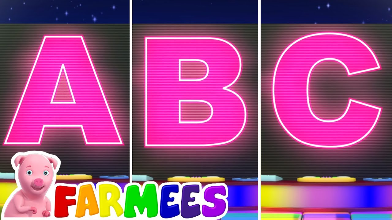 Lagu Abc | Bayi sajak | Lagu anak anak | Farmees Indonesia | Video edukasi anak